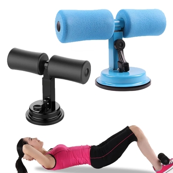 ABS Trainer Sit Up Bar Self-Suction Fitness Equipment Abdominal Strength Trainer Home Gym Muscle Training Women Weightloss new sit up exerciser equipment waist training push up bar arm muscle hip squat trainer home sport fitness machine xywj 8404
