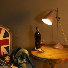 Europa led de cristal de vidrio de color sala de estar lampada comodino lámpara de estilo turco para dormitorio decoración para el salón lámpara de cama