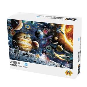 Image 2 - Головоломки 1000 штук для взрослых, космическое путешествие 1000 штук Puzle Brain Pazzle Toy Puzzle