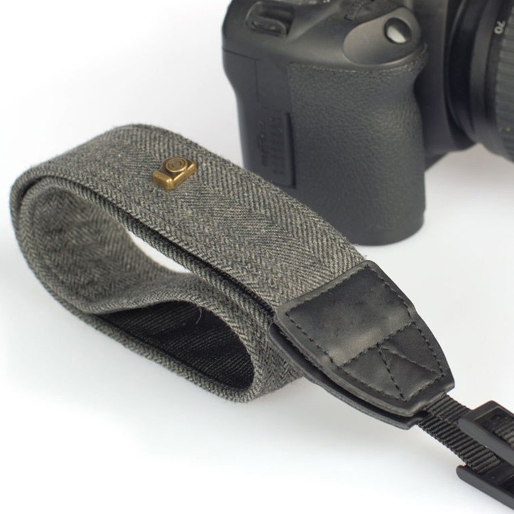 Universal Color Stripes Soft Camera Neck Straps Shoulder Strap Belt Grip For Nikon For Canon For Panasonic
