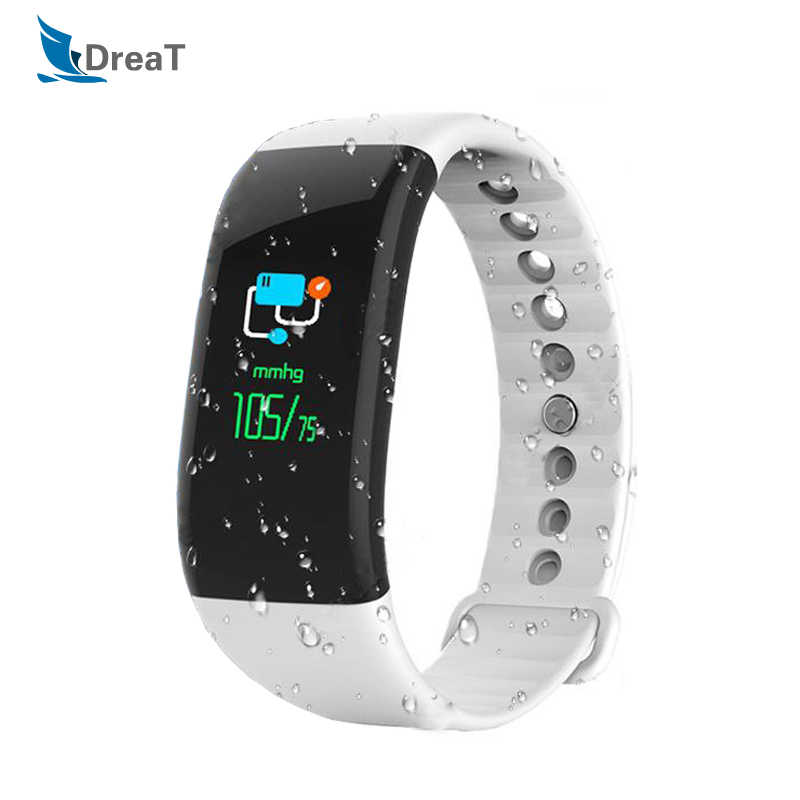 Fitness Bracelet Smart Watch with Pressure Measurement Wristband Men Color Screen SmartWatch Heart Rate Monitor For Android IOS