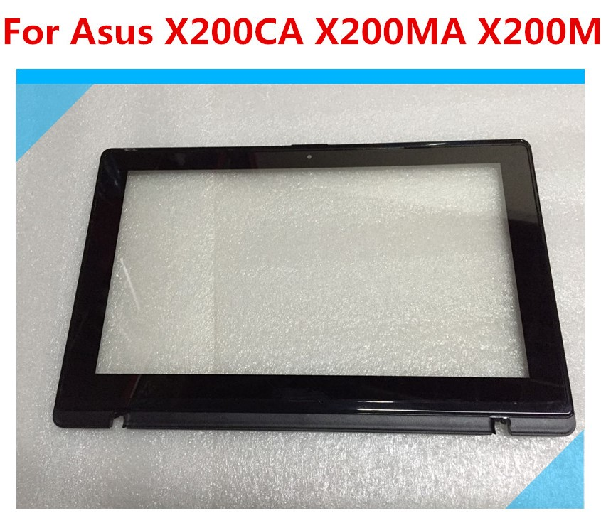 11.6'' Display Screen For Asus Vivobook <font><b>X200MA</b></font> X200CA X200LA LCD Display Touch Screen Digitizer Glass with Bezel TCP11F16 V1.1 image