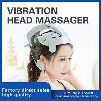Электрический Вибрационный массажер для головы реллив стресс для кожи головы расслабляет усталость мозга и улучшает состояние сна, алиэкспресс в рублях