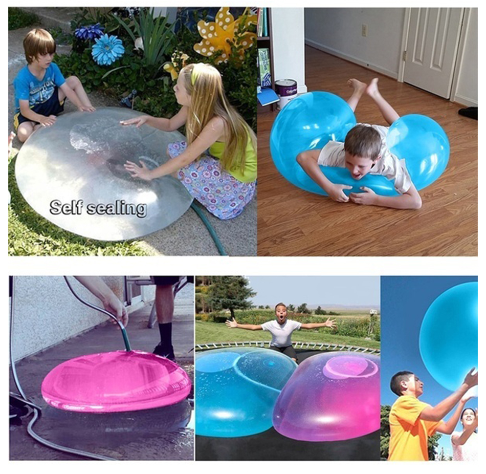 Air/Water Inflatable Jelly Balloon Ball Outdoor Toy 4