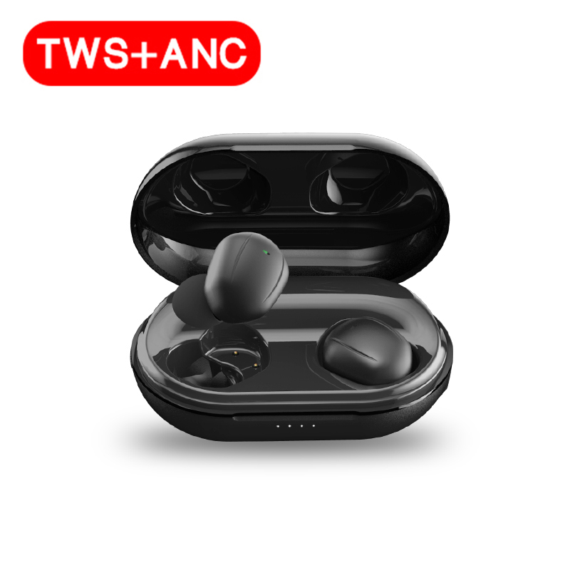 L'ANC Vrais Écouteurs Sans Fil Stéréo Actif Antibruit Écouteurs TWS TYPE-C Chargeur Rapide Bluetooth 5.0 Sans Fil ET Écouteurs