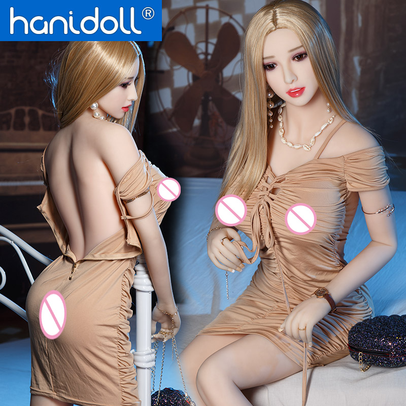 Hanidoll <font><b>165cm</b></font> Silicone <font><b>Sex</b></font> <font><b>Dolls</b></font> <font><b>TPE</b></font> Love <font><b>Doll</b></font> Realistic Full Sized Vagina Anal Oral Breast Masturbator <font><b>Sex</b></font> <font><b>doll</b></font> Metal Skeleton image