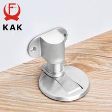 KAK regulowany odbojnik do drzwi magnetyczny ogranicznik do drzwi ze stali nierdzewnej naklejki bez dziurkacza wodoodporne drzwi przystanek meble okucia do drzwi
