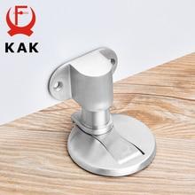KAK Einstellbare Tür Halter Edelstahl Magnetische Tür Stopper Nicht punch Aufkleber Wasser beweis Tür Stop Möbel Tür hardware