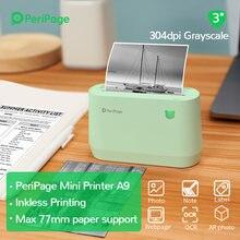 Портативный термальный bluetooth принтер peripage a9pro 304