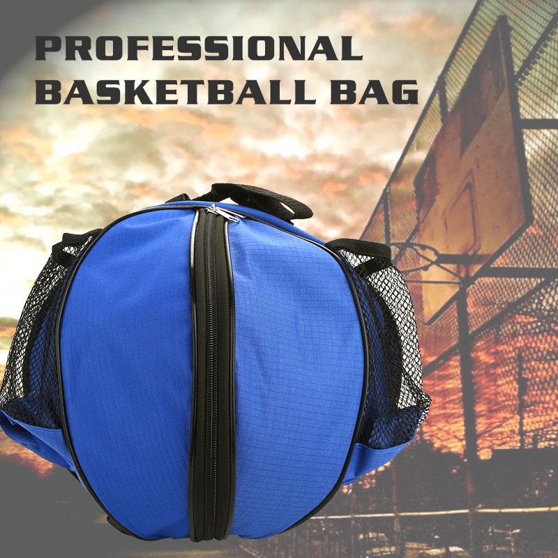 Blanket Roll Ball Basketball Bag Outdoor 7 Color Oxford Cloth Football Bag Soccer Backpack Portable