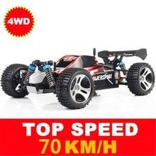 Wltoys Mobil Kecepatan Tinggi A959 A959-A A959-B A979 2.4G 4CH Drive Shaft RC Aksi Balap Mobil Off-Road kendaraan Mobil Mainan