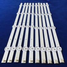 10 PCS/set LED backlight strip for SV0420A88 REV3 A B 131126 WS 420 040 PEAR1 C5 R/L tx 42as500e V42FWSD01