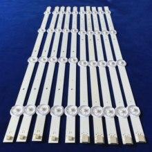 10 pz/set striscia di retroilluminazione A LED per SV0420A88 REV3 Un B 131126 WS 420 040 PEAR1 C5 R/L tx 42as500e V42FWSD01