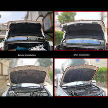Drzwi samochodu paski uszczelniające naklejki B kształt uszczelka gumowa dla Peugeot 206 307 406 407 207 208 308 508 2008 3008 6008