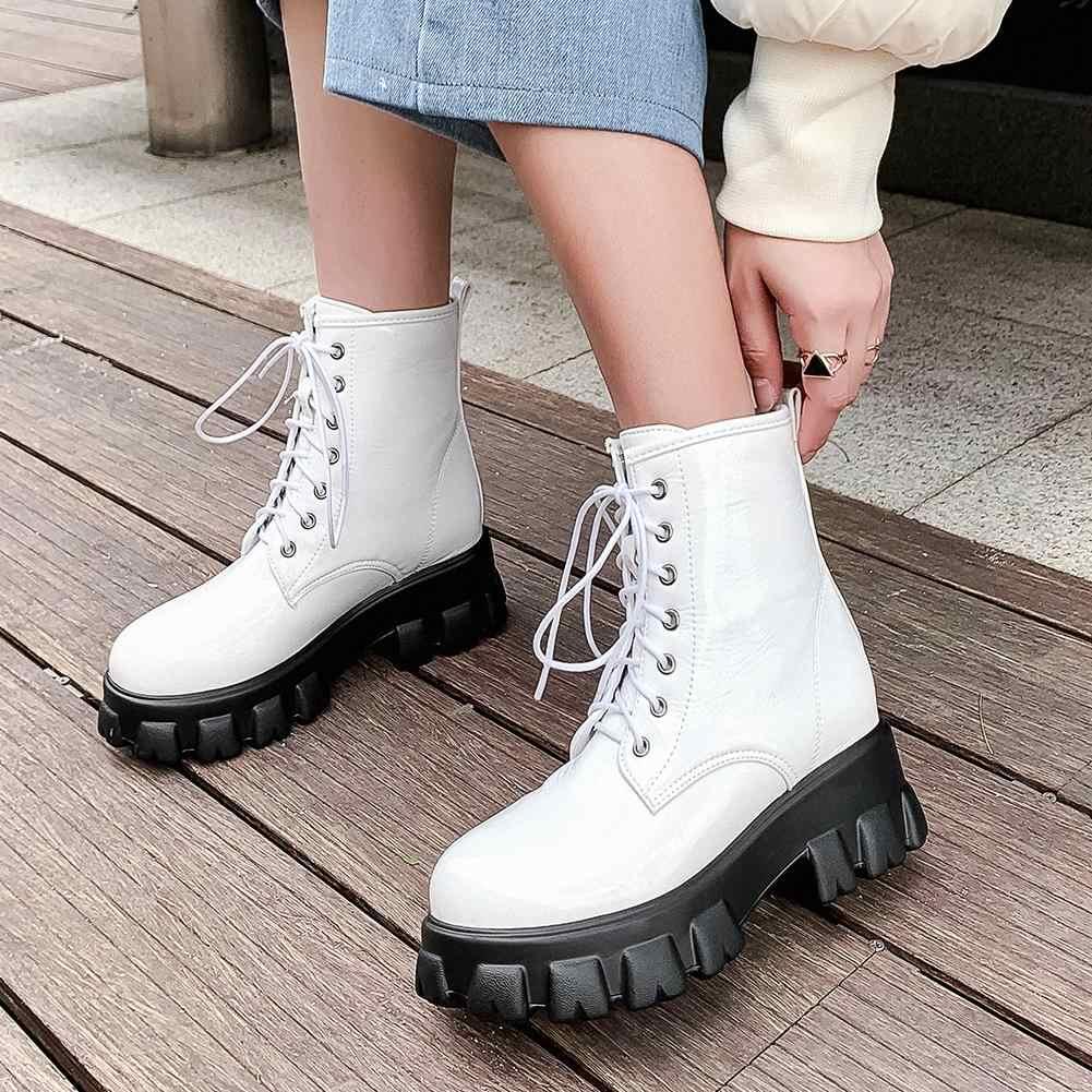 KARINLUNA Plus ขนาด 32-46 ใหม่ Non-slip ผู้หญิงสุภาพสตรี Chunky ส้นรองเท้าผู้หญิง Party สำนักงานรองเท้าหญิง