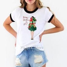 Vogue t shirt women Christmas gift 90s tumblr clothes harajuku kawaii white basic tshirt streetwear female t-shirt
