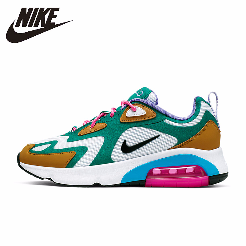 Nike Air Max 200 New Arrival Women Running Shoes Motion Leisure Time Run Shoe Outdoor Sports Sneakers #AT6175-100