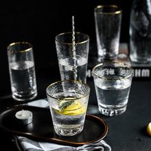 301ml-440ml Whiskey Glass Phnom Penh Cone Transparent Crystal Glass Cup Wine Vodka Bar Club Beer Drink Milk Tea Cup crystal skull head vodka whiskey glass cup