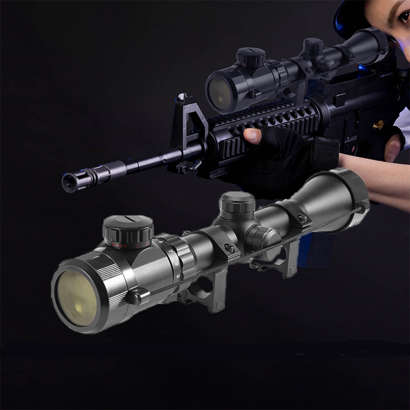 3-9x40 Hunting Air Rifle Scopes Optics Rifle Scopes Tactical Riflescope Airsoft Air Guns Sniper Rifle Optical Scope Tactical