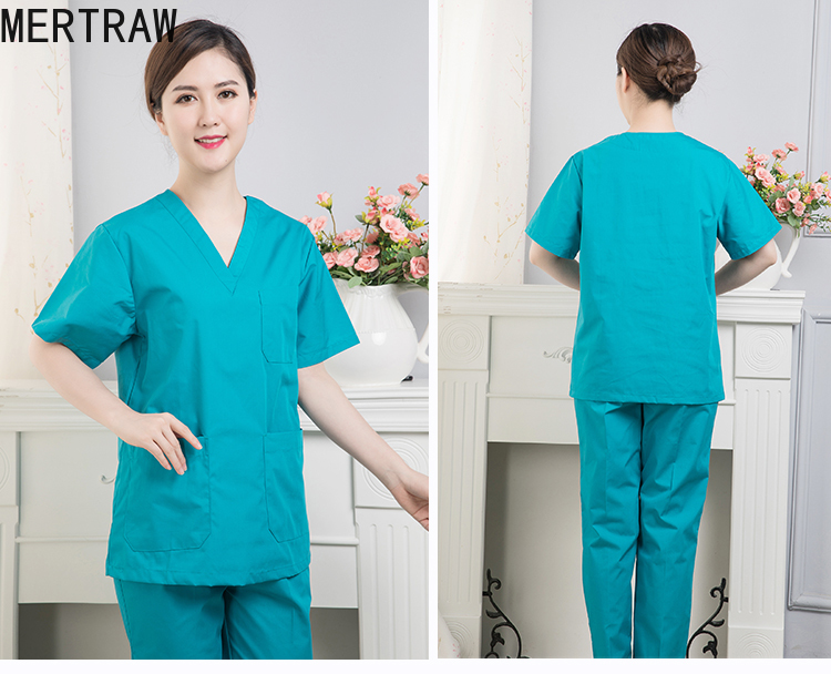 Hospital Pet Men's And Women's Operating Room Washing Clothes Long Sleeve Brush Hand Clothes Short Sleeve Isolation Doctor