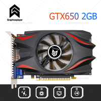 Original Chip Graphics Card VGA Video Card GTX PC GTX650 2GB /2048MB 128BIT for NVIDIA GPU Model Video 1