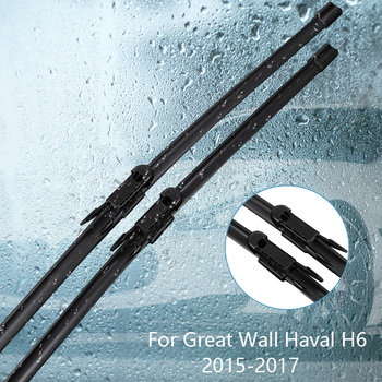 Wipers Blade For Great Wall Haval H6 ( Hover H6 ) 2015 2016 2017Car Accessories For Auto Rubber Windscreen Wiper image