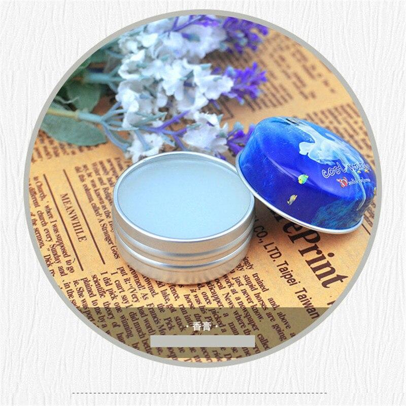1pc Eau De Parfum 15g Women Soild Perfume Feminino Portable Box Flower Fruit Fragrance Floral Cream Female Parfum Metal Casing 5