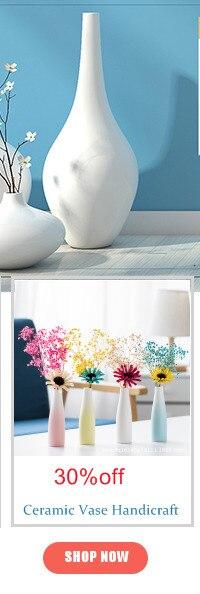 Nordic criativo mesa vaso sala de estar