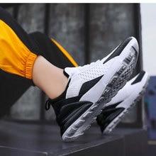 Chaussures de sport de marche respirantes de liens de baisse nouvelle maille hommes chaussures décontractées léger confortable Zapatillas Hombre G38