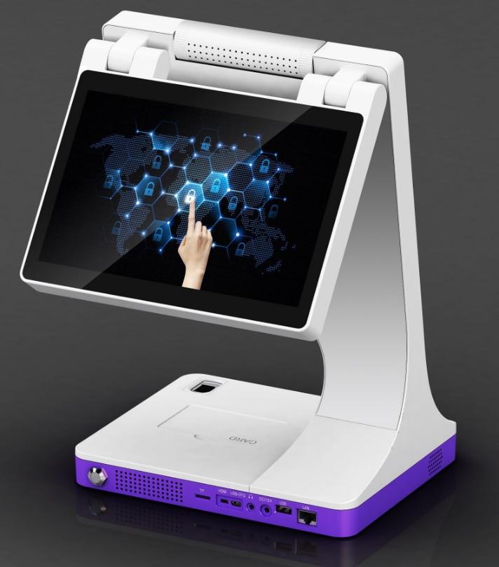 Сканер для паспорта, считыватель карт OCR, система для посетителей отеля, двойной экран, устройство распознавания лиц, настраиваемый