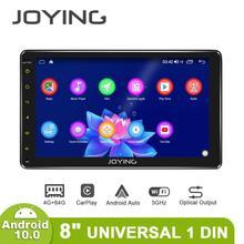 Android 10.0 araba radyo 8 inç IPS ekran 4GB + 64GB IPS destek 4G/kablosuz carplay/Hızlı önyükleme/SWC evrensel stereo video oynatıcı BT