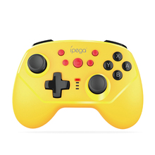 IPEGA PG-9162 Wireless & Wire Switch Gamepad Controller Joypad Remote For Console Joystick Yellow Black