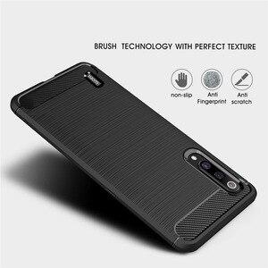 Image 4 - Funda de teléfono para Xiaomi Mi A3 un 3 de lujo, cubierta de fibra de carbono xiami CC9 CC9e CC C 9e C9 C9e 9 suave MiA3 MiCC9 MiCC9e Coque de silicona