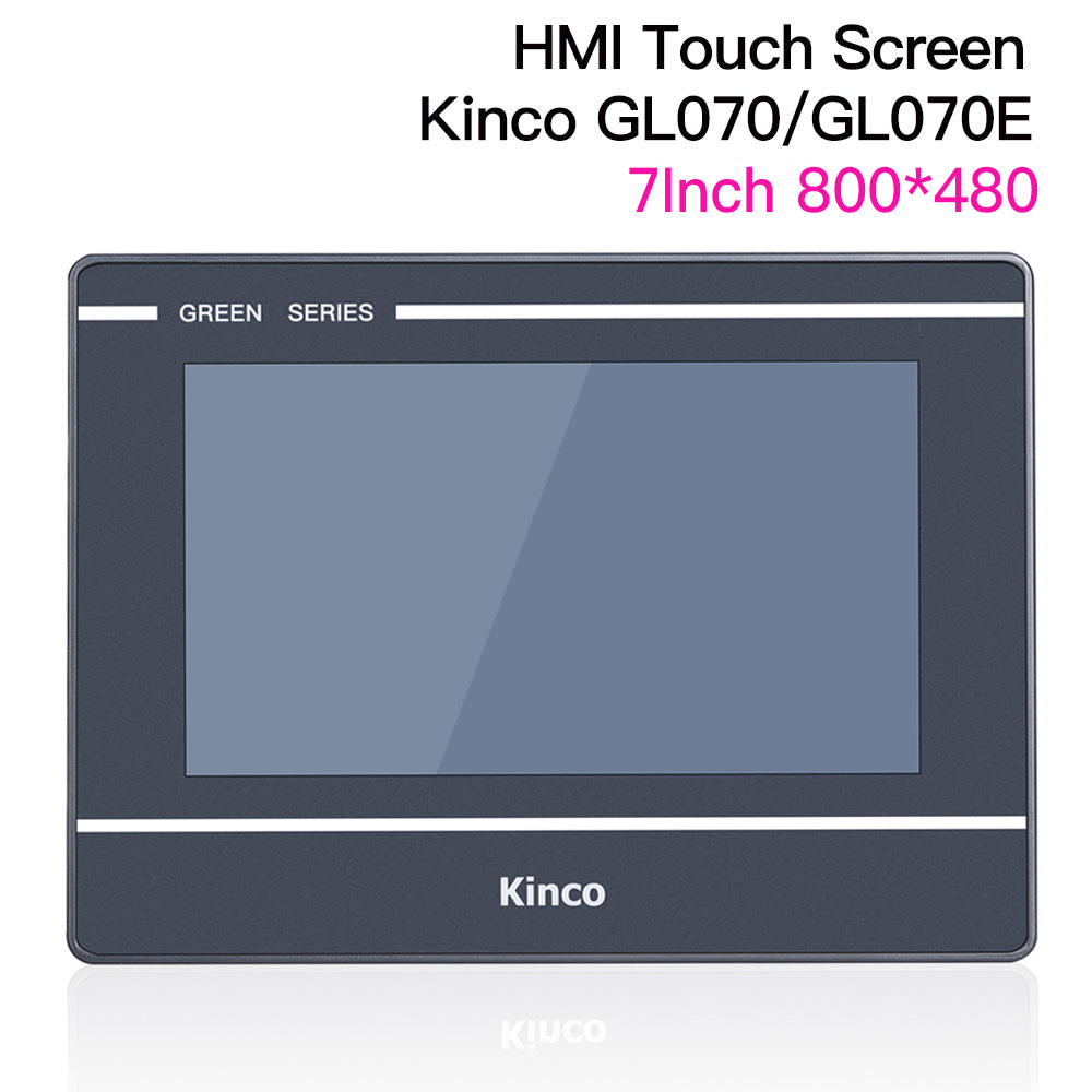7'' Inch Kinco GL070 GL070E HMI Touch Screen Ethernet Port Touch Panel RS232 RS422 RS485 Interface Replace MT4434TE MT4414TE