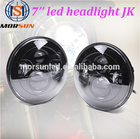 led lights for motor cycle 7inch led head Lamp caravan accessories high power H4 plug