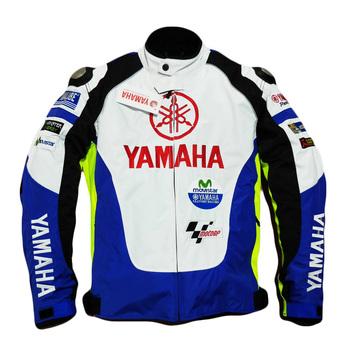 Nowa kurtka męska Protect YAMAHA motocykle GP team odzież wyścigowa Moto odzież wymienny Flaxard Liner tops tanie i dobre opinie Poliester i bawełna CN (pochodzenie) Kurtki Mężczyźni