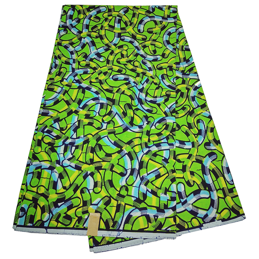 Top Quality African Fabric 100% Cotton Ankara Wax Veritable Prints Real Dutch Wax Fabric For Party Dress