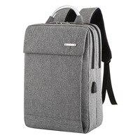 SHUJIN-حقيبة ظهر للكمبيوتر المحمول Usb مضادة للسرقة للرجال ، حقيبة ظهر للأعمال ذات سعة كبيرة ، حقيبة مدرسية ، حقيبة سفر للطلاب ، 2019