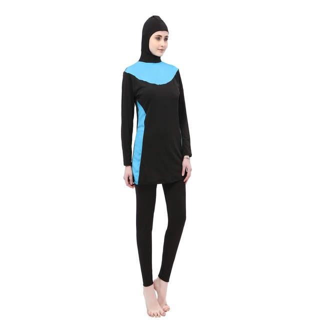 Online Shop Muslim Swimsuit Maillot de bain Femme Musulman