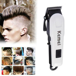 KEMEI męska elektryczna maszynka do strzyżenia włosów profesjonalna maszynka do strzyżenia włosów maszynka do strzyżenia włosów jest łatwa do przenoszenia