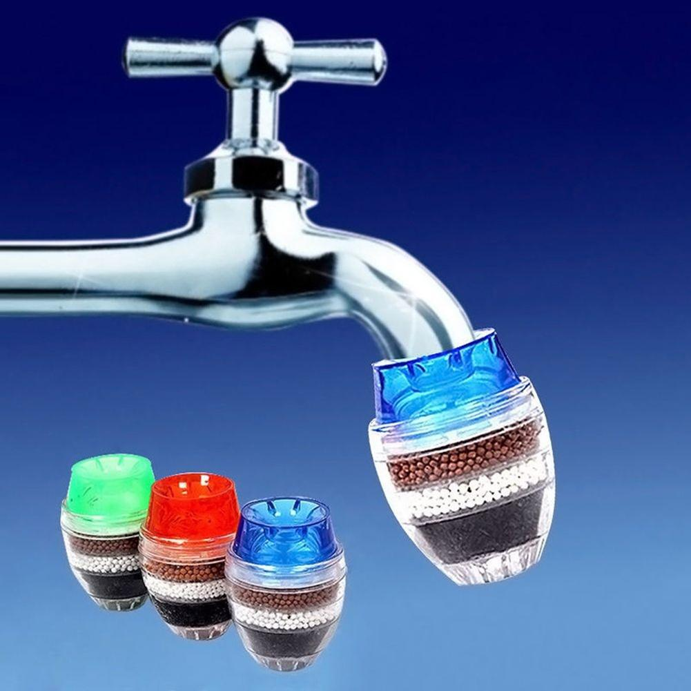 Mini Home Kitchen Useful Faucet Tap Purifier Activated Carbon Water Filter