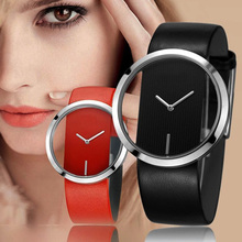 Get more info on the New Brand Fashion Ladies Watch Noble Leather Personality Female Quartz Watch Women's Thin Casual StrawWatch Reloj Mujer 5