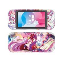 Hayır oyun No yaşam NintendoSwitch cilt Sticker çıkartma kapak Nintendo anahtarı için Lite koruyucu Nintendo anahtarı Lite cilt Sticker