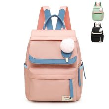 Preppy Students Cute Fresh Backpack Women Bookbag Waterproof Travel Bagpack School Bags Girls Kawaii Laptop Rucksack(China)