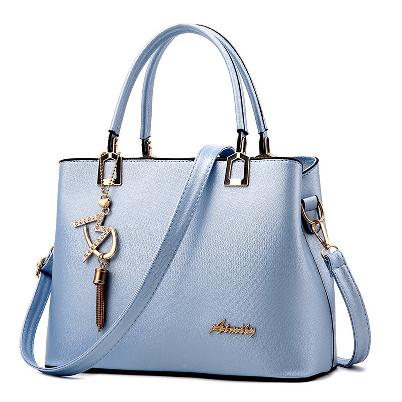Women Bag Shoulder Handbag Women Vintage Messenger Bags Fashion Luxury Top-Handle Composite Bag Purse Wallet Leather 3