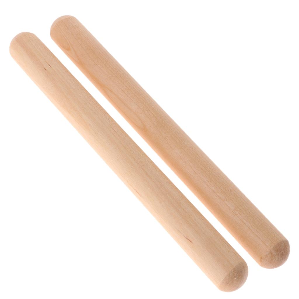 Baquetas de ritmo de madera, instrumento clásico de percusión de Claves,  Juguete Musical para niños Chico, aprendizaje de ritmo|Partes y accesorios  de guitarras| - AliExpress