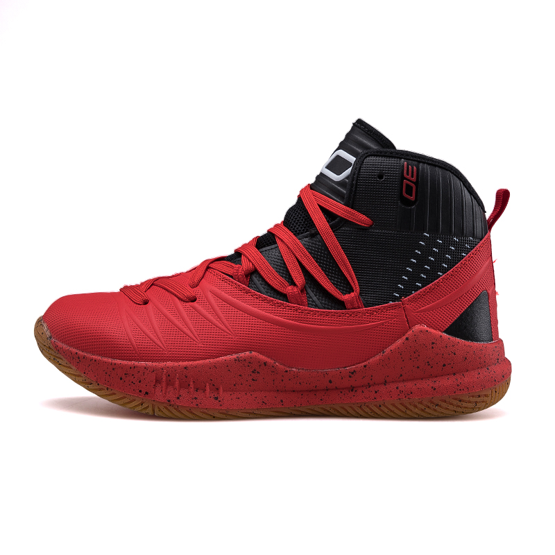 2019 Hot New Men's Basketball Shoes Zapatillas Hombre Deportiva Red Breathable Men Ankle Boots Basketball Sneakers Athletic Shoe