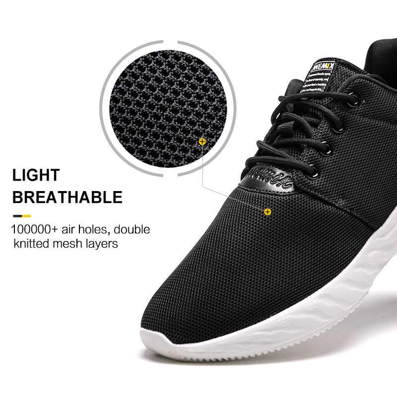 Onemix men's retro running shoes outdoor sports sneakers light breathable shoes men sneaker for outdoor jogging walking trekking