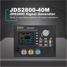 US/EU/UK/AU 40MHZ Signal Generator Digital Control Dual-channel DDS Function Frequency Meter Arbitrary Wave