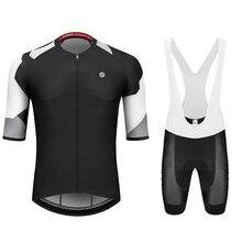 SIROKO pro team summer men cycling jersey set short sleeve shirts clothing ropa ciclismo hombre bycicle MTB bib shorts maillot